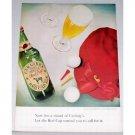 1948 Carlings Red Cap Ale Golf Balls Color Print Ad