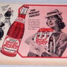 1940 Pepsi Cola Soda Beverage Pepsi Pete Art Color Print Ad