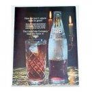 1964 Tab Cola Color Print Ad - 1 Calore Taste So Good