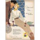 1958 Pepsi Cola Soda Soft Drink Western Art Color Print Ad - Slim and Trim