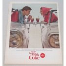 1965 Coca Cola Coke Soda Soft Drink Color Print Ad - More Than A Soft Drink