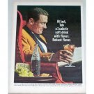 1965 Tab Soda Soft Drink Color Print Ad - Robust Flavor