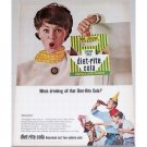 1965 Diet Rite Cola Carton Carrier Color Print Ad - Who's Drinking?