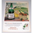 1946 Clicquot Club Ginger Ale Strawberry Fields Color Art Print Ad