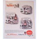 1962 Dr Pepper Soda Harmon Johnny Hart Art Color Print Ad