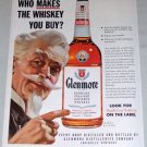 1954 Glenmore Bourbon Whiskey Color Art Print Ad