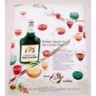 1956 Canada Dry Creme De Menthe Liqueurs Color Print Ad