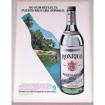 1979 Ronrico Puerto Rican Rum Color Print Magazine Print Ad