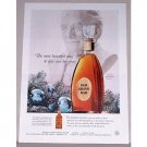 1955 Grand Old Dad Bourbon Whiskey Color Ad