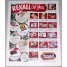 1951 Rexall Drug Gift Ideas Color Print Ad