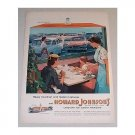 1955 Howard Johnson's Restaurants Color Print Ad