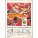 1959 Gold Medal Flour Cheeseburger Pie Recipe Color Print Ad