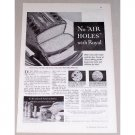 1932 Royal Baking Powder Print Ad - No Air Holes