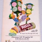 1952 Necco Thin Sugar Wafer Candy Vintage Color Children Art Print Ad