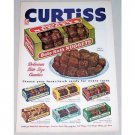 1952 Curtiss Bite Size Baby Ruth Nuggets Candy Color Print Ad