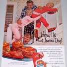 1960 Aunt Jemima Pancake Mix Color Print Ad