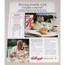 1965 Kelloggs Special K Cereal Color Print Ad