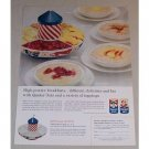 1958 Quaker Oats Merry Go Round Server Offer Color Print Ad