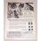 1956 Quaker Oats MGM Cartoon Cookie Cutters Offer Print Ad