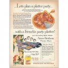 1959 French's Mustard Ames Brothers Record Offer Color Print Ad