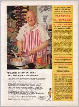 1960 Planter's Peanut Oil Print Ad - Planter's Oil Contest