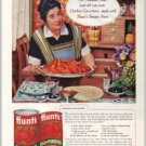 1960 Hunt's Tomato Paste Chicken Cacciatora Recipe Color Print Ad