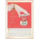 1959 Carnation Evaporated Milk Color Art Print Ad - Best Kept Secrets..