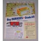1949 Durkee's Oleomargarine Color Print Ad