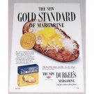 1952 Durkee's Margarine Baked Potato Color Print Ad - Gold Standard