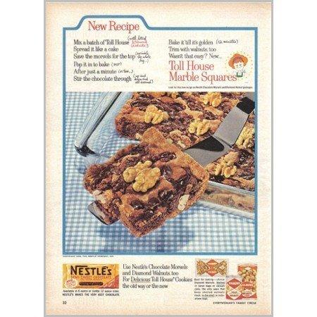 1959 Nestle's Semi-Sweet Chocolate Color Print Ad