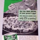 1952 Star Kist Chunk Style Tuna Vintage Food Print Ad Celebrity Arthur Godfrey