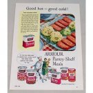 1953 Armour Treet Canned Meat Color Print Ad