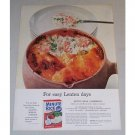 1955 Minute Rice Seven Seas Casserole Recipe Color Print Ad