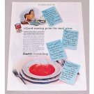 1940 Campbell's Tomato Soup Color Print Ad - Good Starting Point