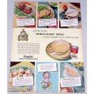 1948 Campbells Cream Of Mushroom Soup Color Print Ad