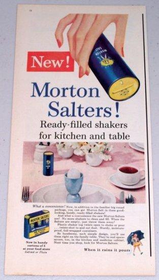 1954 Morton Salt Salters Seasoning Vintage Color Food Print Ad