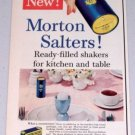 1954 Morton Salt Salters Seasoning Vintage Color Food Print Ad