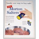 1955 Morton Salt Ready Filled Shaker Color Art Print Ad