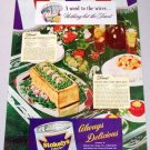 1945 Stokely's Van Camp Food Products Color Print Ad
