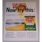 1957 Del Monte Golden Sweet Corn Color Print Ad