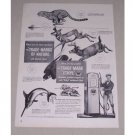 1949 Ethyl Gasoline Animal Art Vintage Print Ad - Trademarks of Nature