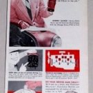 1953 Purolator Oil Filter Vintage Color Print Ad Johnny Lujack Notre Dame Football