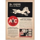 1940 AC Spark Plugs Horse Animal Art Vintage Print Ad - Mr. Cleenie Goes To Town