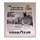 1961 Good Year Farm Tires Murray Verity Emerald Farms Vintage Print Ad