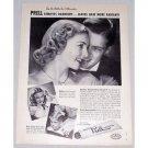 1949 Prell Shampoo Vintage Print Ad - Leaves Hair More Radiant