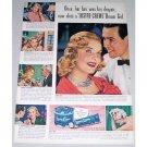 1948 Lustre Creme A Shampoo Dream Girl Vintage Color Print Ad