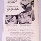 1953 Ayds Reducing Plan Weight Control Vintage Print Ad Celebrity Zsa Zsa Gabor