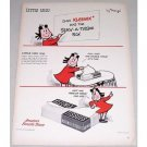 1948 Kleenex Tissues Marge Little Lulu Art Vintage Color Print Ad