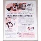 1951 Zenith Royal Hearing Aid Color Print Ad - Hard Of Hearing?