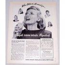 1949 Listerine Antiseptic Vintage Print Ad - Gargle Regularly